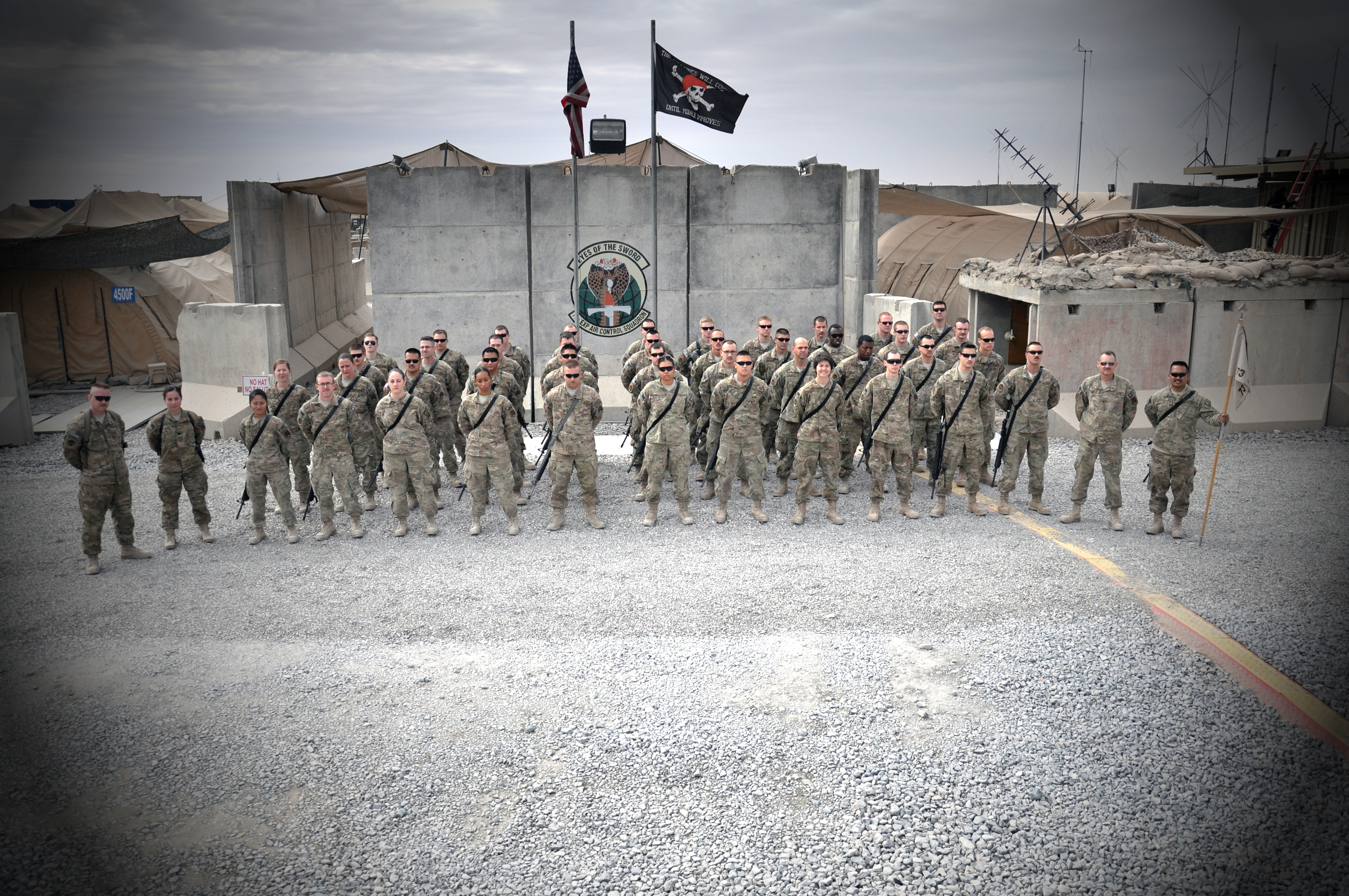 Craig's Troop in Afghanistan